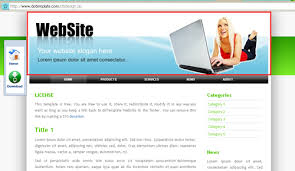 Pengertian Template atau Theme Website